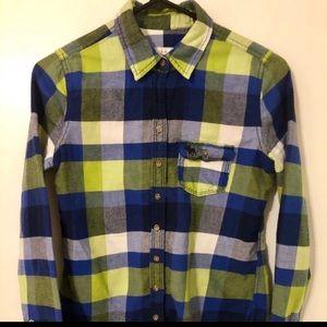 Abercrombie Kids Long Sleeve Button Up Shirt
